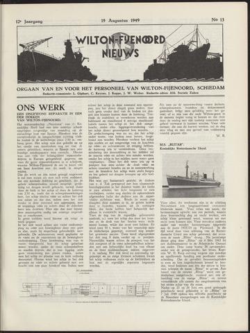 Wilton Fijenoord Nieuws 1949-08-01