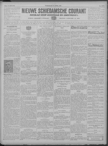 Nieuwe Schiedamsche Courant 1933-04-19