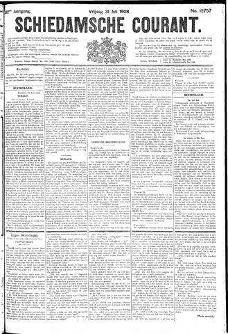 Schiedamsche Courant 1908-07-31
