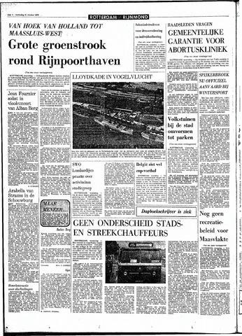 Rotterdamsch Parool / De Schiedammer 1970-10-21