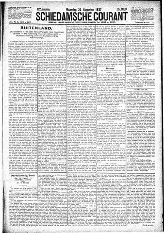 Schiedamsche Courant 1927-08-22