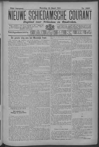 Nieuwe Schiedamsche Courant 1918-03-25