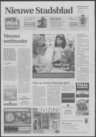 Het Nieuwe Stadsblad 2012-09-19