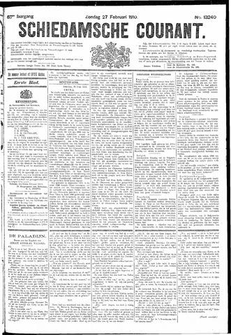 Schiedamsche Courant 1910-02-27