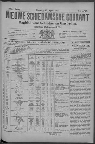 Nieuwe Schiedamsche Courant 1897-04-13