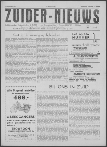 Zuider Nieuws 1963-02-07