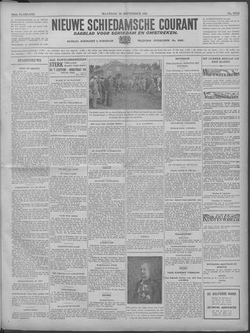 Nieuwe Schiedamsche Courant 1933-09-25