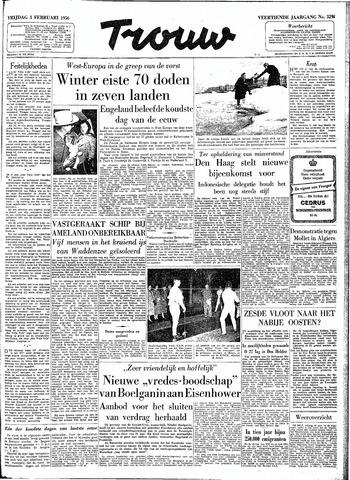 Trouw / De Rotterdammer 1956-02-03