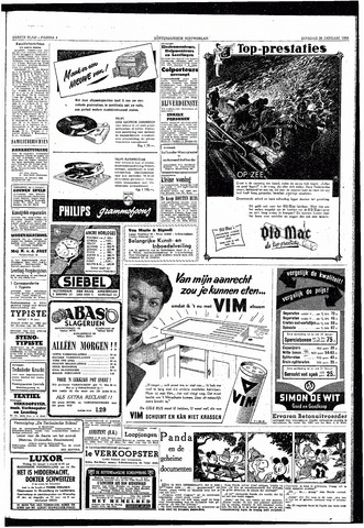 Rotterdamsch Nieuwsblad / Schiedamsche Courant / Rotterdams Dagblad / Waterweg / Algemeen Dagblad 1953-01-20