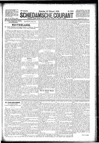 Schiedamsche Courant 1929-02-23