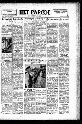Rotterdamsch Parool / De Schiedammer 1946-07-09