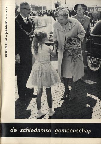 Schiedamse Gemeenschap (tijdschrift) 1962-09-01
