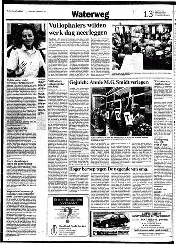 Rotterdamsch Nieuwsblad / Schiedamsche Courant / Rotterdams Dagblad / Waterweg / Algemeen Dagblad 1991-09-12
