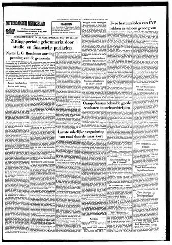Rotterdamsch Nieuwsblad / Schiedamsche Courant / Rotterdams Dagblad / Waterweg / Algemeen Dagblad 1966-08-31