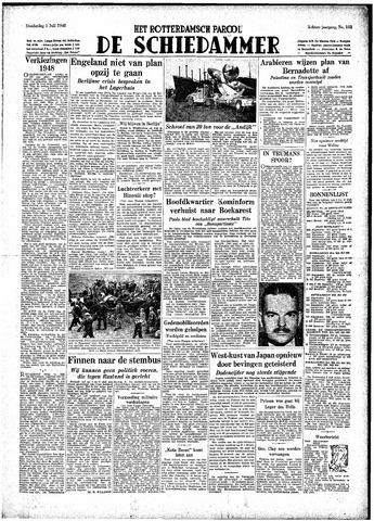 Rotterdamsch Parool / De Schiedammer 1948-07-01
