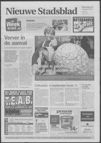 Het Nieuwe Stadsblad 2011-08-24
