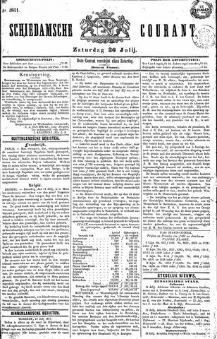 Schiedamsche Courant 1851-07-26