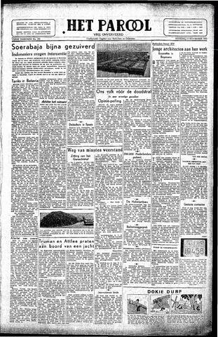 Rotterdamsch Parool / De Schiedammer 1945-11-13