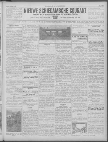 Nieuwe Schiedamsche Courant 1933-11-16