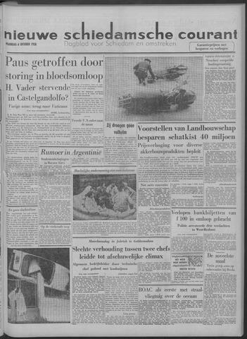 Nieuwe Schiedamsche Courant 1958-10-06