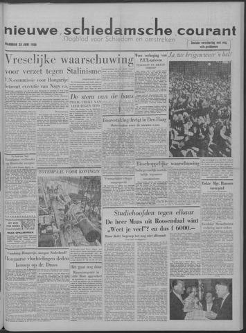 Nieuwe Schiedamsche Courant 1958-06-23