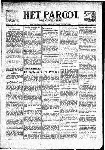 Rotterdamsch Parool / De Schiedammer 1945-07-31