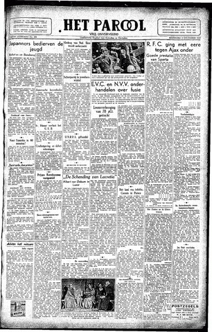 Rotterdamsch Parool / De Schiedammer 1945-12-03