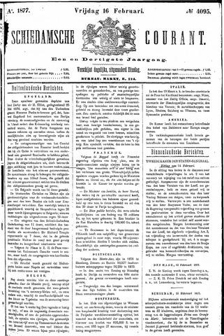Schiedamsche Courant 1877-02-16