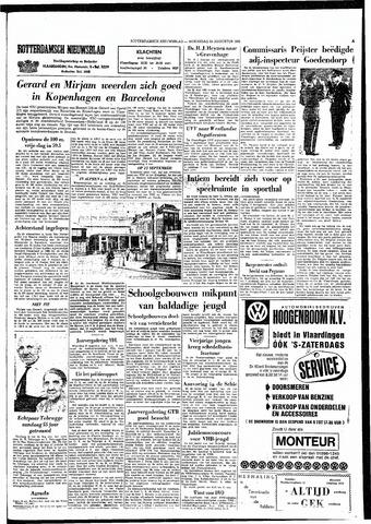 Rotterdamsch Nieuwsblad / Schiedamsche Courant / Rotterdams Dagblad / Waterweg / Algemeen Dagblad 1965-08-25