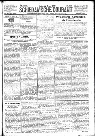 Schiedamsche Courant 1927-06-02