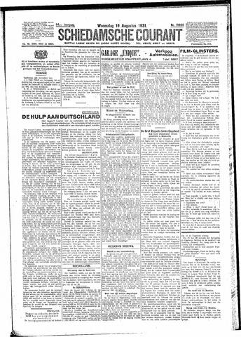 Schiedamsche Courant 1931-08-19