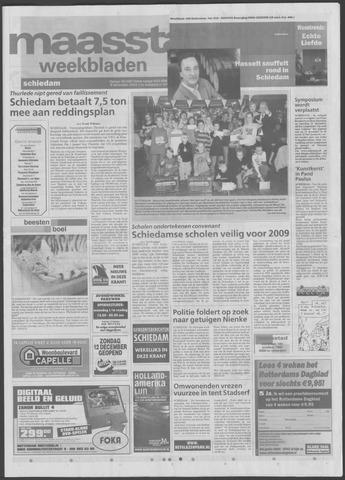 Maaspost / Maasstad / Maasstad Pers 2004-12-08