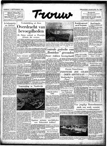 Trouw / De Rotterdammer 1954-09-03