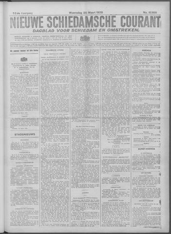Nieuwe Schiedamsche Courant 1929-03-20