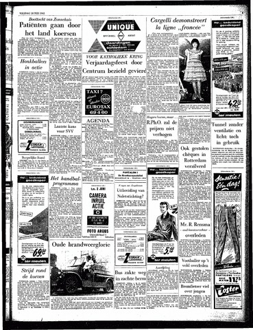 Rotterdamsch Parool / De Schiedammer 1962-05-18