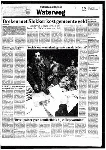 Rotterdamsch Nieuwsblad / Schiedamsche Courant / Rotterdams Dagblad / Waterweg / Algemeen Dagblad 1993-10-12