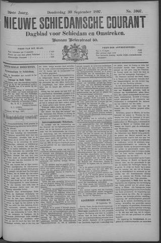 Nieuwe Schiedamsche Courant 1897-09-30