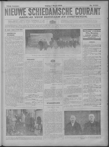 Nieuwe Schiedamsche Courant 1929-03-01