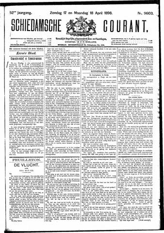 Schiedamsche Courant 1898-04-18