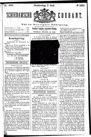 Schiedamsche Courant 1881-06-02