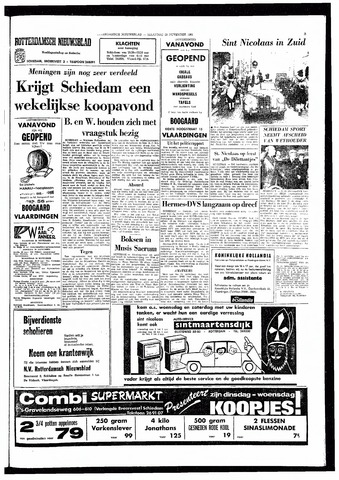 Rotterdamsch Nieuwsblad / Schiedamsche Courant / Rotterdams Dagblad / Waterweg / Algemeen Dagblad 1966-11-28