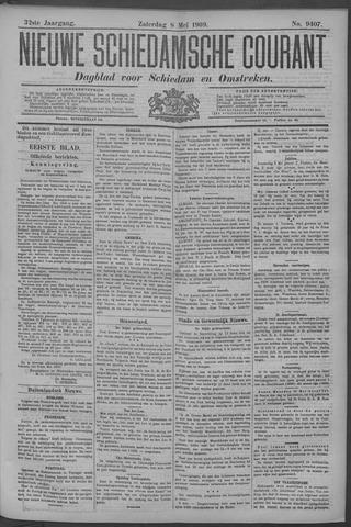Nieuwe Schiedamsche Courant 1909-05-08