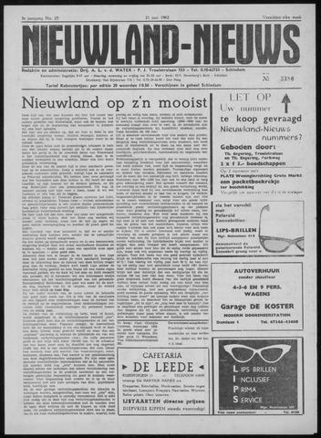 Nieuwland Nieuws 1962-06-21