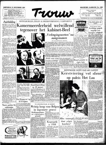 Trouw / De Rotterdammer 1958-12-24