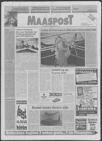 Maaspost / Maasstad / Maasstad Pers 1995-04-12