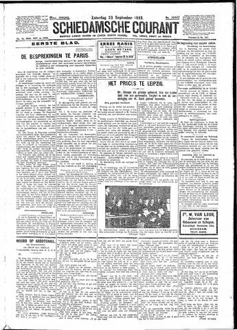 Schiedamsche Courant 1933-09-23