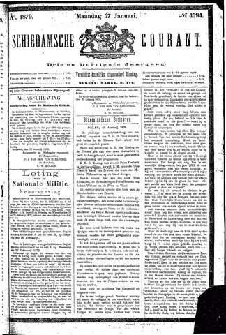 Schiedamsche Courant 1879-01-27