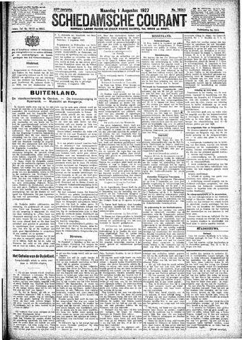 Schiedamsche Courant 1927-08-01