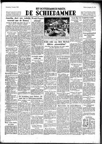 Rotterdamsch Parool / De Schiedammer 1948-10-07