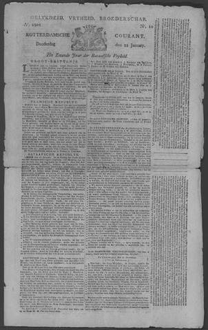 Rotterdamse Courant 1801-01-22